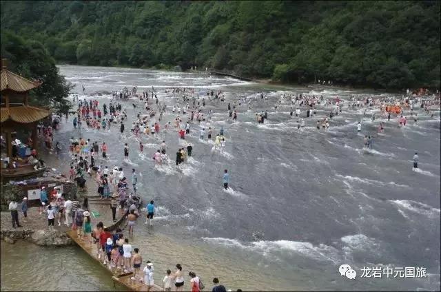 ¥399起 白水洋鸳鸯溪汽车二日游每周五、六龙岩出发