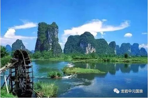 ¥1480 桂林山水、兴坪漓江、阳朔、银子岩、山水间···双飞四日游