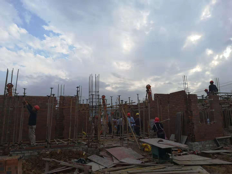 德兴·印象缤江施工全面启动,样板房正在有序建造中