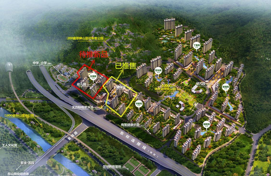 美伦生态城一期四栋楼即将迎来封顶,明年初推出新品