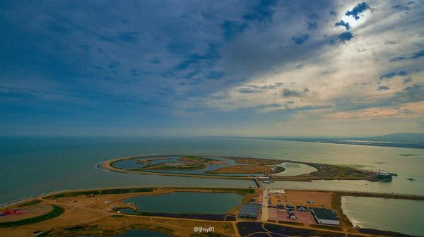 """带你从空中窥视海上""""迪拜"""""""